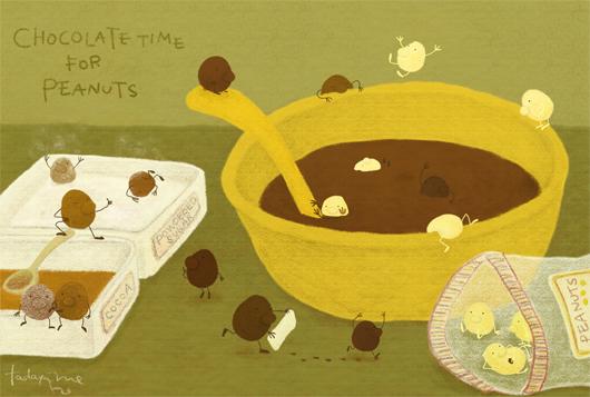 チョコピーナツくん